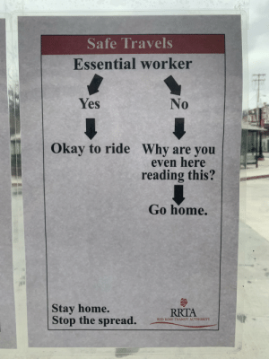 My local bus station doing its part with the correct level of sarcasm.: My local bus station doing its part with the correct level of sarcasm.