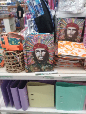 """My local supermarket is selling school folders with the theme of a Murderer bastard best known as Ernesto """"Che"""" Guevara.: My local supermarket is selling school folders with the theme of a Murderer bastard best known as Ernesto """"Che"""" Guevara."""