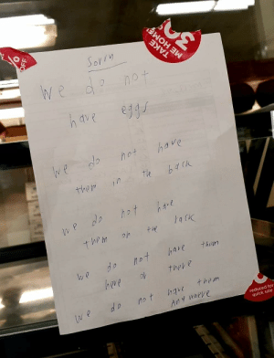 my local superstore has had enough: my local superstore has had enough