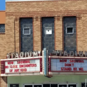 My local theater has a sense of humor: My local theater has a sense of humor