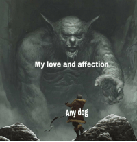<p>[X-post r/dankmemes] Going to pet ALL the G O O D B O Y E S</p>: My love and affection  Any dog <p>[X-post r/dankmemes] Going to pet ALL the G O O D B O Y E S</p>