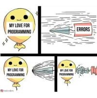 Love, Change, and Programming: MY LOVE FOR  PROGRAMMING  ERRORS  MY LOVE FOR  PROGRAMMING  MY LOVE FOR  PROGRAMMING  回/redcoders Nothings gonna change my love for programming