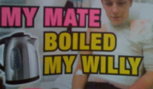 mate: MY  MATE  BOILED  MY.WILLY