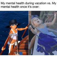 Tbh, Grindr, and Vacation: My mental health during vacation vs. My  mental health once it's over:  @gaybestfrier Me every weekend, tbh (@gaybestfriend)