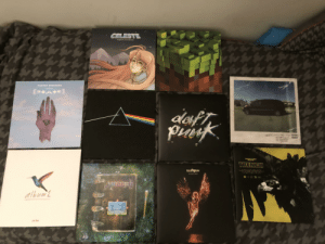 My modest vinyl collection right now: My modest vinyl collection right now