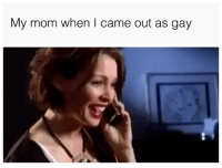 And the academy award goes to... (twitter   kevin_symes): My mom when I came out as gay And the academy award goes to... (twitter   kevin_symes)