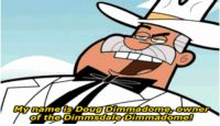 Doug Dimmadome: My name is Doug Dimmadome, owner  of the Dimmsdale Dimmadome!