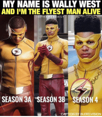 You may be cool... but are you KidFlash cool? 😂 I have a theory: the higher @keiynanlonsdale's hair grows the more Speedforce power he accumulates. Season 4 he'll be running circles around @grantgust 👍🏾⚡️ Repost from @thewebdaily. Edit by @bosslogic. Caption by me. -- 🚨 And be sure to listen to the latest episode of Blerd Vision [LINK IN BIO] for our GetOut Review, our breakdown of TheFlash vs GorillaCity and more DCTV!: MY NAME IS WALLY WEST  AND IM THE FLYEST MAN ALIVE  I GITHE WEB DAILY  SEASON 3A SEASON 3B  SEASON 4  CAPTION BY LERD VISION You may be cool... but are you KidFlash cool? 😂 I have a theory: the higher @keiynanlonsdale's hair grows the more Speedforce power he accumulates. Season 4 he'll be running circles around @grantgust 👍🏾⚡️ Repost from @thewebdaily. Edit by @bosslogic. Caption by me. -- 🚨 And be sure to listen to the latest episode of Blerd Vision [LINK IN BIO] for our GetOut Review, our breakdown of TheFlash vs GorillaCity and more DCTV!