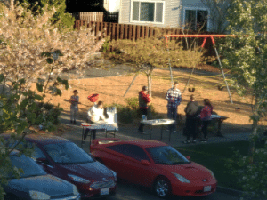 My neighborhood winning the Darwin Award by deciding to host a pizza party at the worst time...: My neighborhood winning the Darwin Award by deciding to host a pizza party at the worst time...
