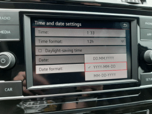 My new car supports the one true date format: My new car supports the one true date format