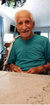 Birthday, Cute, and Celebrated: My Nonno just recently celebrated his 93rd birthday. A year older and still just as cute!