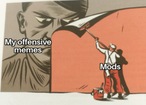 Chill, Memes, and Reddit: My offensive  memes  Mods Yes, this is hitler, and chill, i found it in my schoolbooks, so its literally ment for work