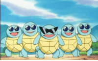 Pikachu, Squad, and Gang: My one hope for the Detective Pikachu movie is that the Squirtle Squad appears as a local gang at some point