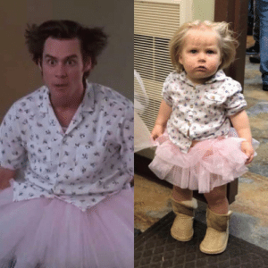 Ace Ventura, Funny, and Girl: My one year old girl as Mental Hospital Ace Ventura via /r/funny https://ift.tt/2Jkw6Tq