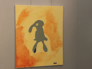 My painting of Bold and Brash: My painting of Bold and Brash