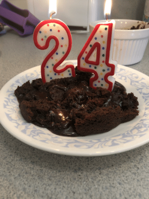 My partner made me a cake to celebrate my 25th birthday. The results of her hard work immediately collapsed haha just wanted to share with everyone: My partner made me a cake to celebrate my 25th birthday. The results of her hard work immediately collapsed haha just wanted to share with everyone