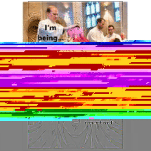 My phone corrupted one of my memes into this: My phone corrupted one of my memes into this