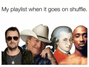 Funny Memes hilarious inappropriate: My playlist when it goes on shuffle. Funny Memes hilarious inappropriate
