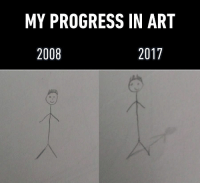Art, You, and For: MY PROGRESS IN ART  2008  2017 So excited for you guys to see my artistic progression