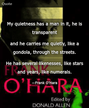 Frank Ohara The Collected Poems Of Frank Ohara
