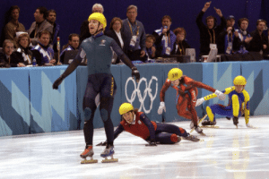 my-random-fandoms: hate:  kitsunecoffee:  brilliantinemortality:  vagisodium:  apriki:  never forget that australias first ever winter olympics gold was won because the guy was coming dead last and everyone in front of him fell over   its happening  even better the only reason he was in the final was bc the same thing happened in the semis and the only reason he was in the semis was bc one of the guys that came ahead of him in the quarters was disqualified  i'm not sure if he's the luckiest skater alive or a skater that has the power to curse other competitors.  i've been laughing non stop for the past like 10 minutes    His expression is everything : my-random-fandoms: hate:  kitsunecoffee:  brilliantinemortality:  vagisodium:  apriki:  never forget that australias first ever winter olympics gold was won because the guy was coming dead last and everyone in front of him fell over   its happening  even better the only reason he was in the final was bc the same thing happened in the semis and the only reason he was in the semis was bc one of the guys that came ahead of him in the quarters was disqualified  i'm not sure if he's the luckiest skater alive or a skater that has the power to curse other competitors.  i've been laughing non stop for the past like 10 minutes    His expression is everything