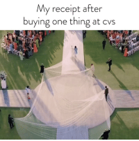 Receipt, Girl Memes, and Cvs: My receipt after  buying one thing at cvs  betches.com *buys chapstick*
