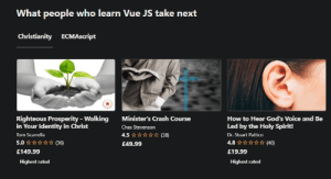 My recommendations on Udemy after I finished Java Script course: My recommendations on Udemy after I finished Java Script course