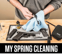 spring cleaning: MY SPRING CLEANING