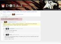 Funny, Parents, and Reddit: MY SUBREDDITS FRONT ALL  RANDO  ASK REDDIT FUNNY  ORLDINE  e DOTA 2  mments  CO  Played 3 games on US East today. Had 1 English-speaking teammate  self, DotA2  submitted 11 hours ago by  imsoglady oumentioned  55 comments share  sorted by: best  you are viewing a single comment's thread.  view the rest of the comments  imsogladyoumentioned SJ 24 points 10 hours ago  UPDATE: 4 games, 1 english speaking teammate  I acutally wish that earthquake  obliterated the country. I really mean that. I hate them all.  permalink embed  unsung anhero 12 points 5 hours ago  I feel you so much right now  permalink embed parent  Play 4E 1 point 1 hour ago  This is why I quit playing ranked. If a game turns you into an asshole racist then  it's not really worth it.  permalink embed parent  Want to join? Log in or sign up in seconds. I English Non-english speakers deserve earthquakes