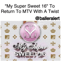 """My Super Sweet 16"" To Return To MTV With A Twist -blogged by @BenitaShae ⠀⠀⠀⠀⠀⠀⠀⠀⠀ ⠀⠀⠀⠀⠀⠀⠀⠀⠀ MTV is bringing back a classic fan favorite, "" MySuperSweet16,"" the reality show that followed outrageously rich teens and their enabler parents as they planned their top-notch sweet 16 birthday parties. The parties featured endless sports cars, celebrity guests, big cakes and even bigger temper tantrums. ⠀⠀⠀⠀⠀⠀⠀⠀⠀ ⠀⠀⠀⠀⠀⠀⠀⠀⠀ According to an email blast sent out this morning by casting company Doron Ofir, any ""coming of age"" event is fair game: ""MTV cordially invites you to My Super Sweet...an extraordinary television event featuring the most important day of your life marked by the greatest of celebrations - Sweet Sixteen, Quinceanera, Debutante Ball, Debut, or any other coming of age milestone event - if it's going to be lit, we want to know about it! We want to showcase the most Instagram-enviable celebrations ever seen. Snap the sweetest and most memorable moments of your life that'll make all your Snapchat followers comment goals when they see just how turnt your party gets!"" ⠀⠀⠀⠀⠀⠀⠀⠀⠀ ⠀⠀⠀⠀⠀⠀⠀⠀⠀ You can be as young as 13 to apply and there's no upper age limit apparent. The only requirement mentioned is that you be ""the most popular, outrageous, glitzy, girl or boy"" who are ""planning extravagant parties that will show the world just how blessed they really are."" ⠀⠀⠀⠀⠀⠀⠀⠀⠀ ⠀⠀⠀⠀⠀⠀⠀⠀⠀ Are you here for the reboot?: ""My Super Sweet 16"" To  Return To MTV With A Twist  balleralert  SWEET ""My Super Sweet 16"" To Return To MTV With A Twist -blogged by @BenitaShae ⠀⠀⠀⠀⠀⠀⠀⠀⠀ ⠀⠀⠀⠀⠀⠀⠀⠀⠀ MTV is bringing back a classic fan favorite, "" MySuperSweet16,"" the reality show that followed outrageously rich teens and their enabler parents as they planned their top-notch sweet 16 birthday parties. The parties featured endless sports cars, celebrity guests, big cakes and even bigger temper tantrums. ⠀⠀⠀⠀⠀⠀⠀⠀⠀ ⠀⠀⠀⠀⠀⠀⠀⠀⠀ According to an email blast sent out this morning by casting company Doron Ofir, any ""coming of age"" event is fair game: ""MTV cordially invites you to My Super Sweet...an extraordinary television event featuring the most important day of your life marked by the greatest of celebrations - Sweet Sixteen, Quinceanera, Debutante Ball, Debut, or any other coming of age milestone event - if it's going to be lit, we want to know about it! We want to showcase the most Instagram-enviable celebrations ever seen. Snap the sweetest and most memorable moments of your life that'll make all your Snapchat followers comment goals when they see just how turnt your party gets!"" ⠀⠀⠀⠀⠀⠀⠀⠀⠀ ⠀⠀⠀⠀⠀⠀⠀⠀⠀ You can be as young as 13 to apply and there's no upper age limit apparent. The only requirement mentioned is that you be ""the most popular, outrageous, glitzy, girl or boy"" who are ""planning extravagant parties that will show the world just how blessed they really are."" ⠀⠀⠀⠀⠀⠀⠀⠀⠀ ⠀⠀⠀⠀⠀⠀⠀⠀⠀ Are you here for the reboot?"