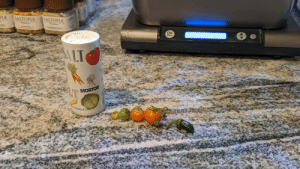 My tomato plant is killing it. Was going to make classic tomato soup until I noticed my big jalapeno harvest. Looks like we're having salsa instead boys!: My tomato plant is killing it. Was going to make classic tomato soup until I noticed my big jalapeno harvest. Looks like we're having salsa instead boys!