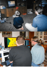The Game, Game, and December 24: My uncle  I playing the game Jackal for the NES 30 years apart. December 24 1988  December 24 2018.