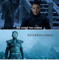 He'll make Westeros great again •Sirius Stark•: My watch has ended.  WINTER IS COMING He'll make Westeros great again •Sirius Stark•