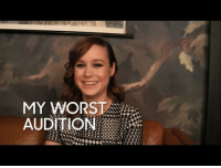 "Target, The Worst, and youtube.com: MY WORSE:  AUDITION <p><strong>WEB EXCLUSIVE:</strong></p> <p>Brie Larson stuck around backstage to talk about <a href=""https://www.youtube.com/watch?v=WNGH7WVnPmw&amp;list=UU8-Th83bH_thdKZDJCrn88g"" target=""_blank"">the worst audition she&rsquo;s ever had</a>!</p>"
