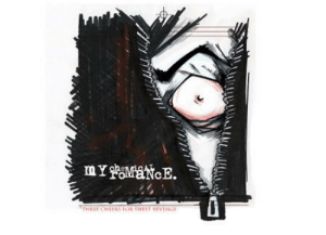 thismirror:  Early artwork for Three Cheers for Sweet Revenge by Gerard Way : mYaaNcE.  THREE CHEERS OR SWEFT REVENGE thismirror:  Early artwork for Three Cheers for Sweet Revenge by Gerard Way