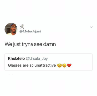 @hilarious.ted is my favorite animal memes page: @MylesAjani  We just tryna see damn  Kholofelo @Ursula_Joy  Glasses are so unattractive @hilarious.ted is my favorite animal memes page