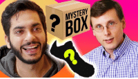 Knowledge, Mystery, and Art: MYSTERY  BOX Abdullah Saeed learns the art of sneaker reviewing from expert Brad Hall and then tests his knowledge with a mystery unboxing.