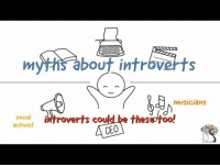"""Tumblr, Blog, and Com: myths about introverts  musicians  stont introverts could be these too!  activist  CEO <p><a href=""""https://dailypsychologyfacts.tumblr.com/post/171651159173/10-myths-about-introverts-debunked"""" class=""""tumblr_blog"""">dailypsychologyfacts</a>:</p><blockquote><p>10 Myths About Introverts Debunked <br/></p></blockquote>"""