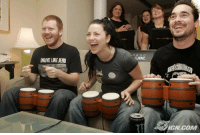 acoolguy: celebgames:   Here's a photo of the band evanescence playing donkey konga in 2004.   so that was the secret to their beautiful music… : N D O  UBE  DRIVE LIKE JEHU  IGN.COM acoolguy: celebgames:   Here's a photo of the band evanescence playing donkey konga in 2004.   so that was the secret to their beautiful music…
