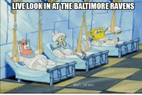 Baltimore Ravens, Baltimore, and Raven: N LIVE LOOKIN AT THE BALTIMORE RAVENS  @NFL MEMES Rough year for Charm City..