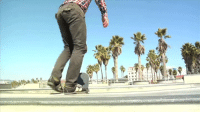Funny, Skateboarding, and Got: n  THE Skateboard trick