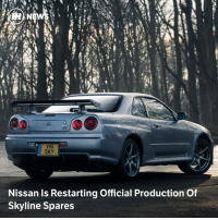 Cars, Memes, and Help: N  W16  SKY  Nissan Is Restarting Official Production Of  Skyline Spares Via @carthrottlenews - No need to pinch yourself; we assure you this is real. Nissan is about to start making high-quality spare parts for a whole load of its classic fast cars, to help owners keep them on the road.
