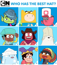 Who's got the best hat game? 🎩👒 nationalhatday: N WHO HAS THE BEST HAT?  CARTOON NETWORK  2  3  4  5  6  FREE  ONS  7  8  9 Who's got the best hat game? 🎩👒 nationalhatday