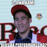 Memes, The Game, and 🤖: NA KAMI  AYOSBA PERFORMANCE KOn Ang lakas na nila! Tapos grabe performance ni Belo! Parang hindi rookie! Kudos din kay Denok Miranda for the game winning shot.  Best Player Of The Game: Mac Belo 25 Points/6 Rebounds/3 Stl  ~Jae Pitacio