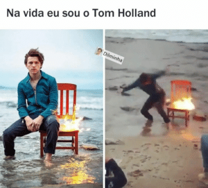 Holland, Tom, and Nä: Na vida eu sou o Tom Holland