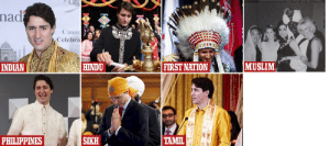 Halloween, Muslim, and Philippines: nad  Cana  Celebra  MUSLIM  HINDU  FIRST NATION  INDIAN  SIKH  TAMIL  PHILIPPINES Trudeau's set for Halloween!