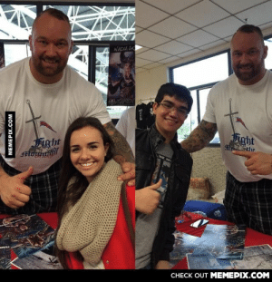 My brother and I met The Mountain! Now I feel like an oompa loompa.omg-humor.tumblr.com: NADIA SA  Fight  Fight  Alorgta  TRAIN  CHECK OUT MEMEPIX.COM  MEMEPIX.COM My brother and I met The Mountain! Now I feel like an oompa loompa.omg-humor.tumblr.com