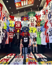 Which shirt would you choose, and why? Let us know in the comments ... GO! 🤔👕: NAGU  SAMAO  FAEREGAS  USTARI  m  ADIDA  JUAMERA  22  NTOTT  PIQUE  EL ARABI  LAMM Which shirt would you choose, and why? Let us know in the comments ... GO! 🤔👕