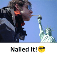 nailed it: Nailed it!