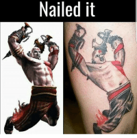 Memes, Minecraft, and Nerd: Nailed it Now that's an awesome tattoo! (Sarcasm) @gamingplus2 . . . gaming gamer games videogames cod gta csgo minecraft starwars marvel xbox playstation nintendo nerd geek leagueoflegends pc youtube lol fun funny dc dota2 game dccomics battlefield steam halo blizzard